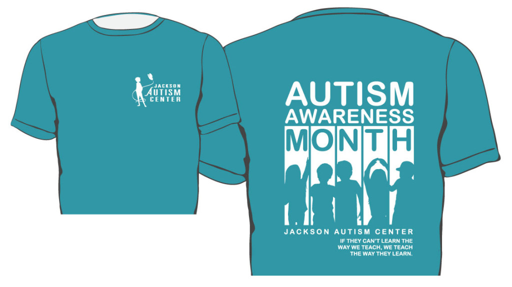 2016 Autism Awareness T Shirt Jackson Autism Center